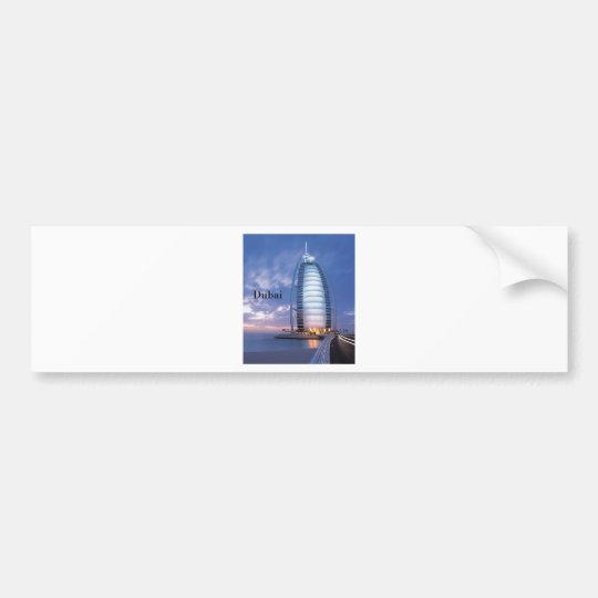 Dubai Burj Al Arab Hotel (by St.K) Bumper Sticker