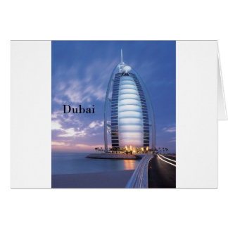 Dubai Burj Al Arab Hotel (by St.K) Greeting Card