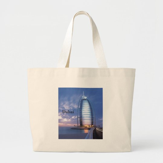 Dubai Burj Al Arab Hotel (by St.K) Large Tote Bag
