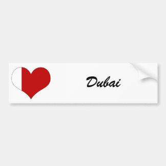 Dubai Pegatina De Parachoque