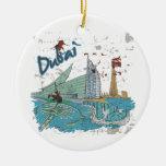 Dubai Christmas Ornament