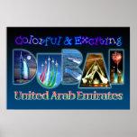 Dubai colorido y emocionante impresiones