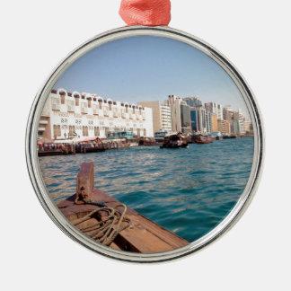 Dubai Creek Metal Ornament