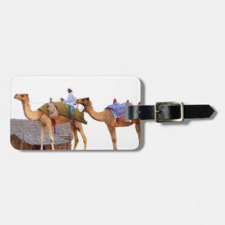 Dubai desert bag tag