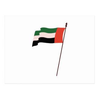 Dubai Flag Postcard