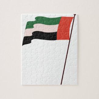 Dubai Flag Puzzle