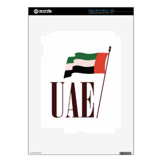Dubai Flag UAE Decal For iPad 2