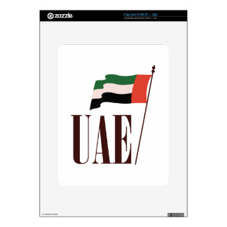 Dubai Flag UAE Decal For The iPad