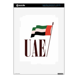 Dubai Flag UAE iPad 3 Decals