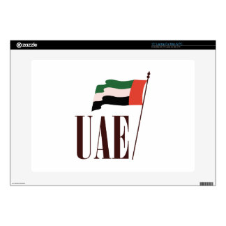 Dubai Flag UAE Laptop Skin