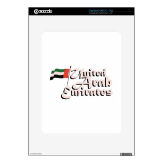 Dubai Flag United Arab Emirates iPad Decal