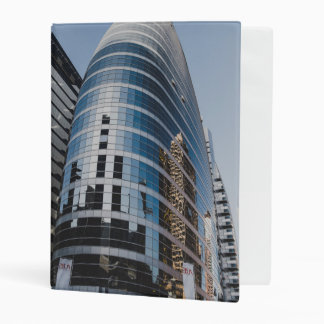 Dubai glass skyscraper mini binder