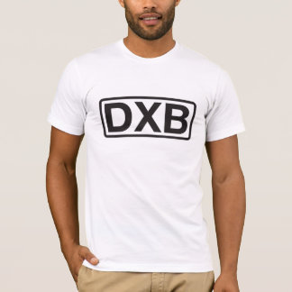 Dubai International Airport Code T-Shirt