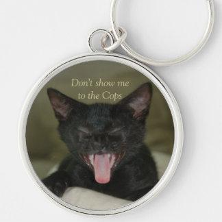 Dubai Kitten-Sticking out his tongue Keychain