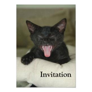 Dubai Kitten-Sticking out tongue Card