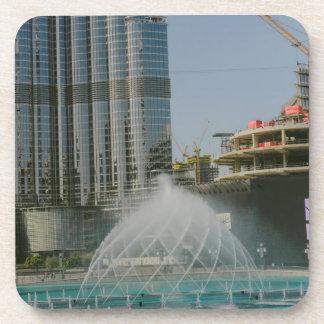 Dubai Mall fountain Drink Coaster