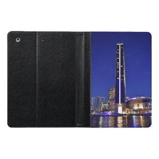 Dubai Marina architecture at night iPad Air Case