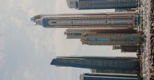 Dubai business card holders cases zazzle dubai marina architecture business card case reheart Choice Image