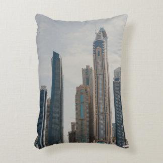 Dubai Marina architecture Decorative Pillow
