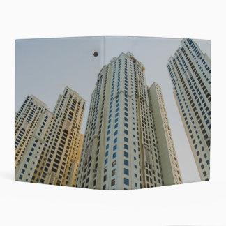 Dubai Marina architecture Mini Binder