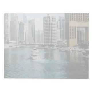 Dubai Marina architecture Note Pad