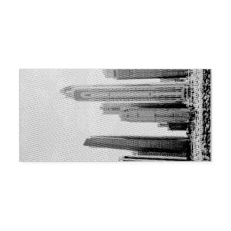Dubai Marina architecture Self-inking Stamp