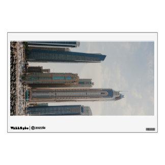 Dubai Marina architecture Wall Decal