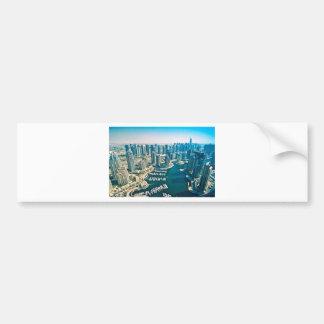 Dubai Marina Bumper Sticker