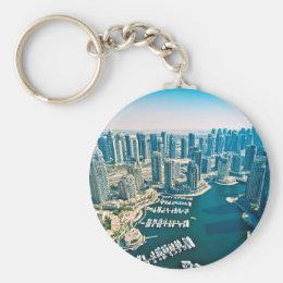 Dubai Marina Keychain