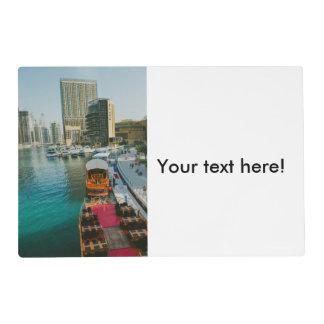 Dubai Marina Pier 7 Placemat