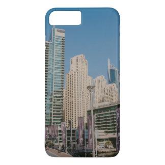 Dubai Marina skyscrapers iPhone 8 Plus/7 Plus Case