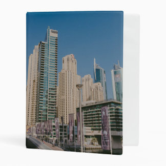 Dubai Marina skyscrapers Mini Binder