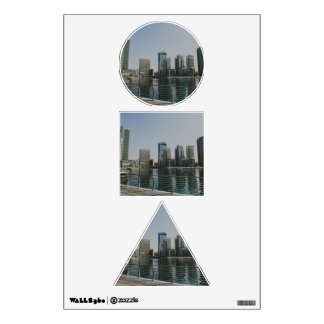 Dubai Marina skyscrapers Wall Decal