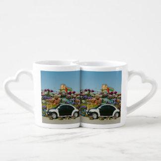 Dubai Miracle Garden car Coffee Mug Set