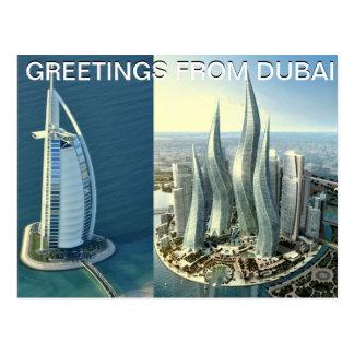 DUBAI Postcard designed by Mojisola A Gbadamosi