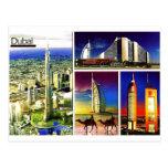 DUBAI Postcard@MojiAOkubule Tarjeta Postal