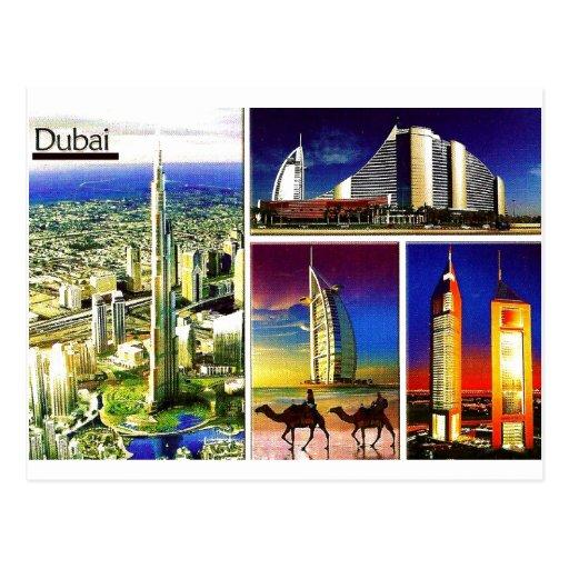 DUBAI Postcard@MojiAOkubule Tarjetas Postales