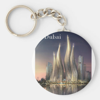 Dubai se eleva (por St.K) Llavero Redondo Tipo Pin