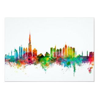 Dubai Skyline Card