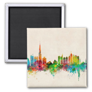 Dubai Skyline Fridge Magnets