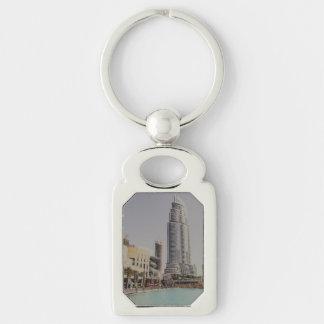 Dubai skyscarpper near Dubai mall Keychain