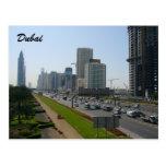 dubai streets post cards