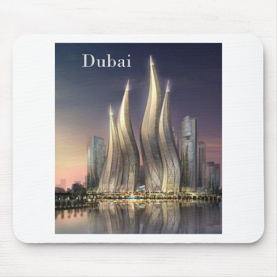 dubai Towers (by St.K) Mouse Pad