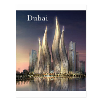 dubai Towers by St K Post Cards