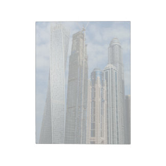 Dubai twisted tower note pad