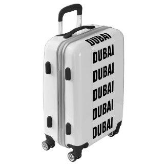 DUBAI, Typo black Luggage