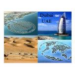 Dubai UAE postcard