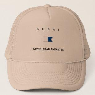 Dubai United Arab Emirates Alpha Dive Flag Trucker Hat b2b03e8adf5