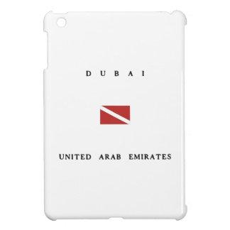 Dubai United Arab Emirates Scuba Dive Flag Cover For The iPad Mini