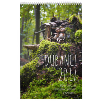 Dubanci 2017 - single page calendar